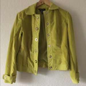 Etcetera Green lime lime blazer Jacket Size 6